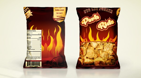Package proposal for Pork Rids - The hot version