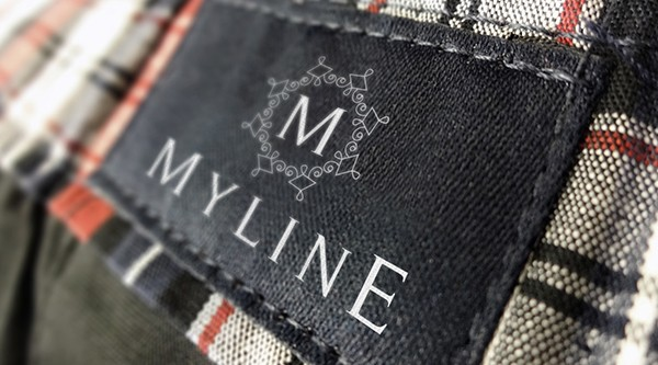 Logo for Myline - clothing producer